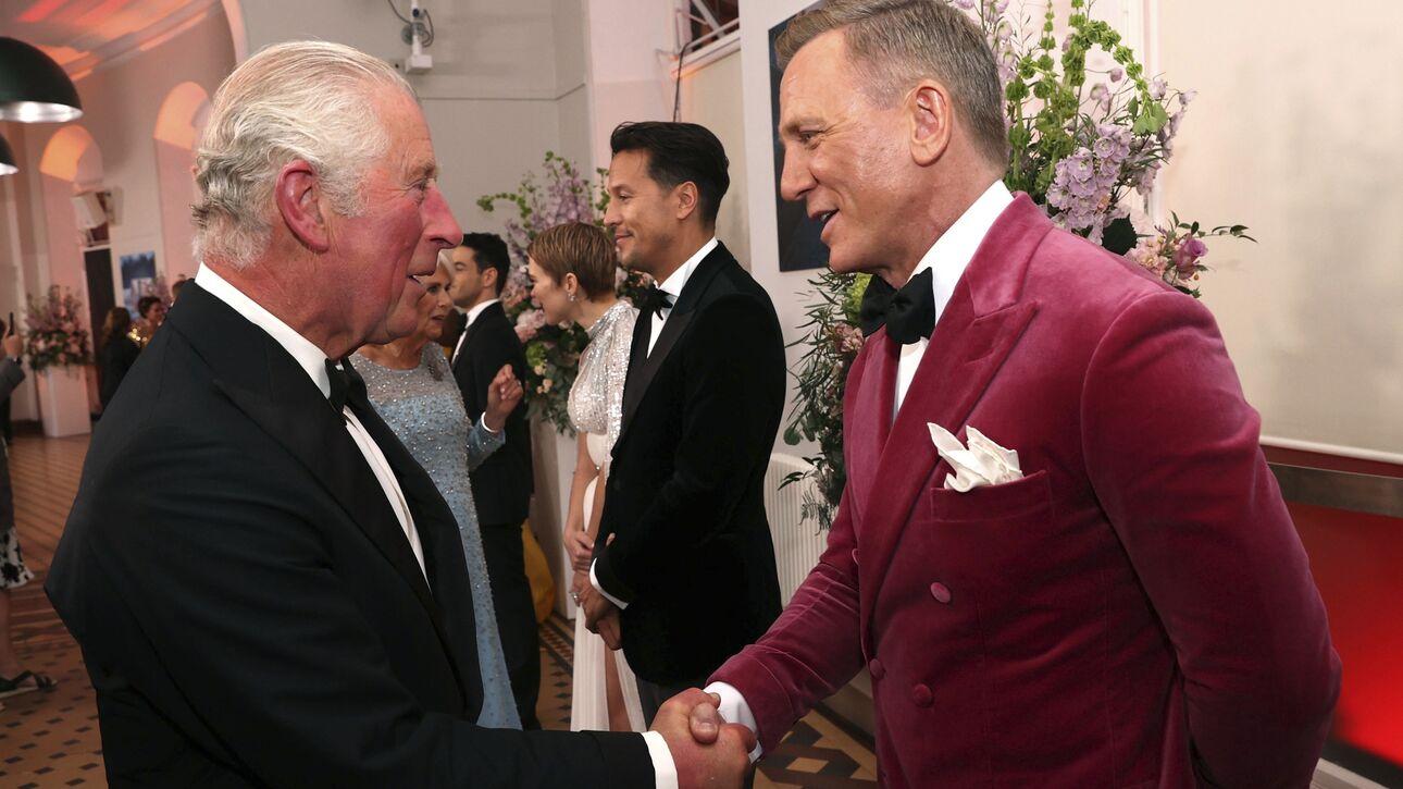 No Time to Die: Πρίγκιπες, σταρ και ενθουσιασμός στην πρεμιέρα του νέου Τζέιμς Μποντ (pics)