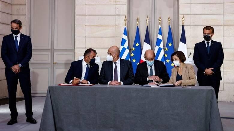Η συμφωνία Ελλάδας - Γαλλίας