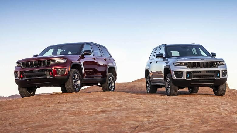 Το νέο Jeep Grand Cherokee θα είναι το 2022 στην Ευρώπη