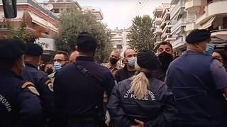 ΕΠΑΛ Σταυρούπολης: Ισχυρές δυνάμεις της αστυνομίας στο σχολείο και μικροεντάσεις