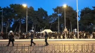 Θεσσαλονίκη: Ένταση σε αντιφασιστική συγκέντρωση στη Σταυρούπολη