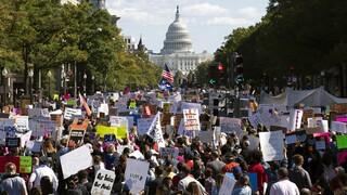 ΗΠΑ: Χιλιάδες διαδηλωτές στους δρόμους υπέρ της άμβλωσης