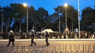 Θεσσαλονίκη: Δύο συλλήψεις μετά τα επεισόδια σε αντιφασιστική συγκέντρωση στη Σταυρούπολη