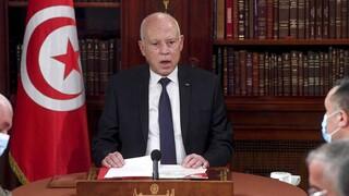 Τυνησία: Υποστηρικτές του προέδρου διαδήλωσαν κατά των καταγγελιών για κοινοβουλευτικό πραξικόπημα