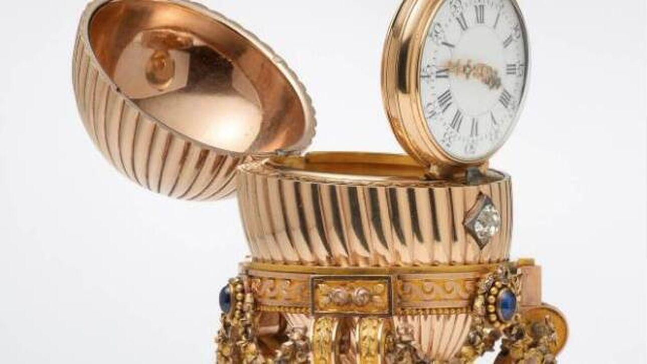 Aυγό Fabergé, χαμένο για δεκαετίες, θα παρουσιαστεί σε έκθεση στο Μουσείο V&A στο Λονδίνο