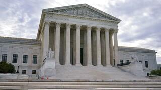 ΗΠΑ: Συνελήφθη ο οδηγός ύποπτου οχήματος έξω από το Ανώτατο Δικαστήριο των ΗΠΑ
