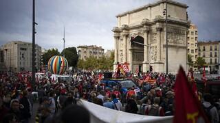Ενεργειακή κρίση - Γαλλία: Στους δρόμους τα συνδικάτα διεδικώντας αυξήσεις μισθών