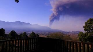 Λα Πάλμα: Εκτός λειτουργίας το αεροδρόμιο λόγω στάχτης από την έκρηξη ηφαιστείου