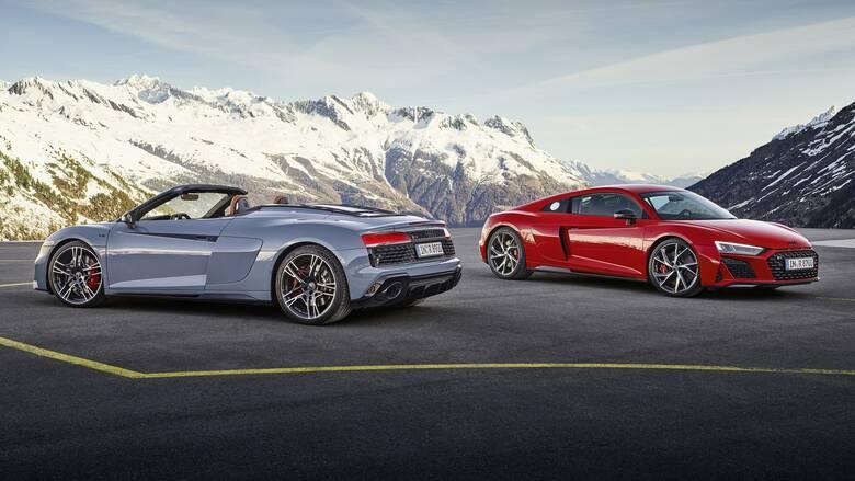 Το πισωκίνητο Audi R8 V10 Performance έχει πλέον 570 ίππους