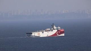 Τουρκία: Νέα NAVTEX για έρευνες του Oruc Reis στην Ανατολική Μεσόγειο