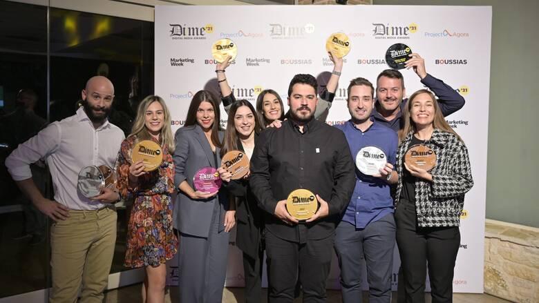 Brand of the year η Πλαίσιοστα Digital Media Αwards