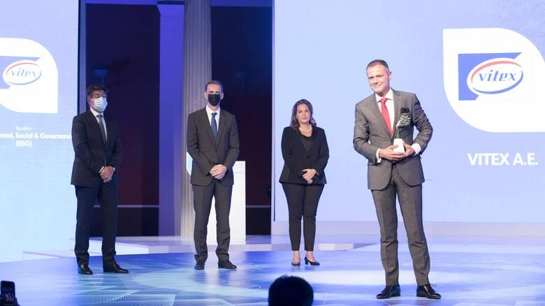 H Vitex A.E. μια από τις 6 νικήτριες τωνGrowth Awards