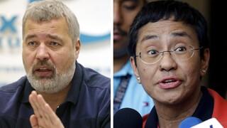 Νόμπελ Ειρήνης 2021: Ο Μπάιντεν συνεχάρη τους δύο δημοσιογράφους για το έργο τους