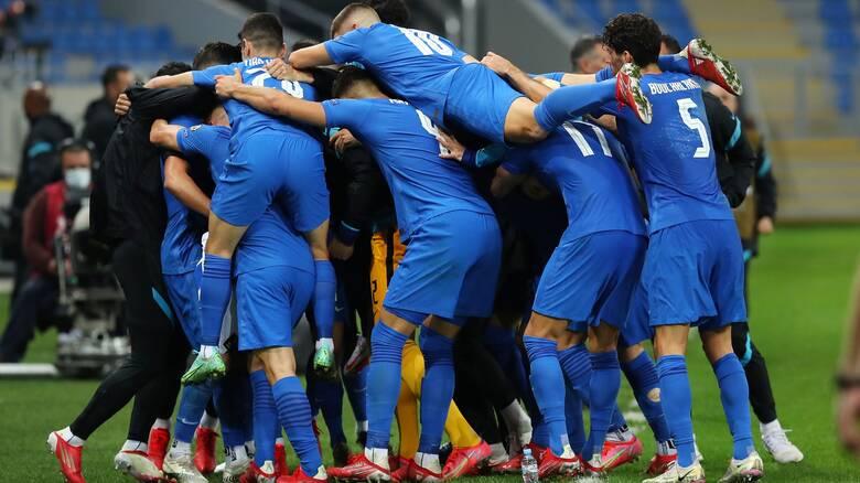 Γεωργία-Ελλάδα 0-2: Νίκη θρίλερ με Μπακασέτα, Πέλκα και τελικός με τη Σουηδία!