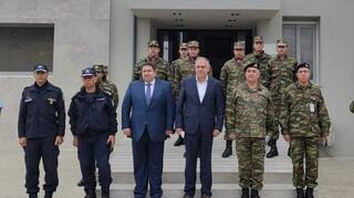 Στον Έβρο ο Θεοδωρικάκος: Σε πλήρη ετοιμότητα οι δυνάμεις ασφαλείας - 250 προσλήψεις συνοριοφυλάκων