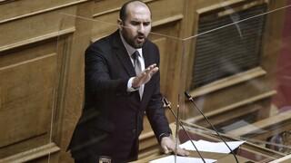 Τζανακόπουλος: «Πολεμοκάπηλη και πατριδοκάπηλη η πολιτική της κυβέρνησης»