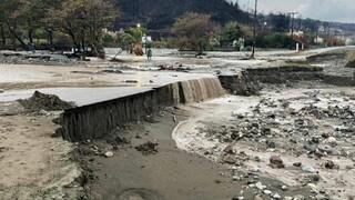 Κακοκαιρία «Αθηνά»: Άνοιξαν και πάλι οι πληγές στη Βόρεια Εύβοια - Ανυπολόγιστες οι ζημιές