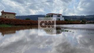 Βόρεια Εύβοια: Kαρέ-καρέ οι ζημιές που προκάλεσε η κακοκαιρία «Αθηνά»