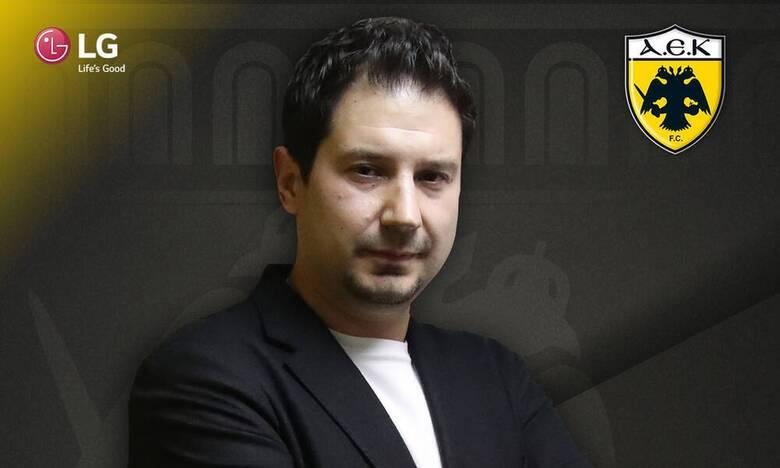 Επίσημα στον πάγκο της ΑΕΚ ο Αργύρης Γιαννίκης