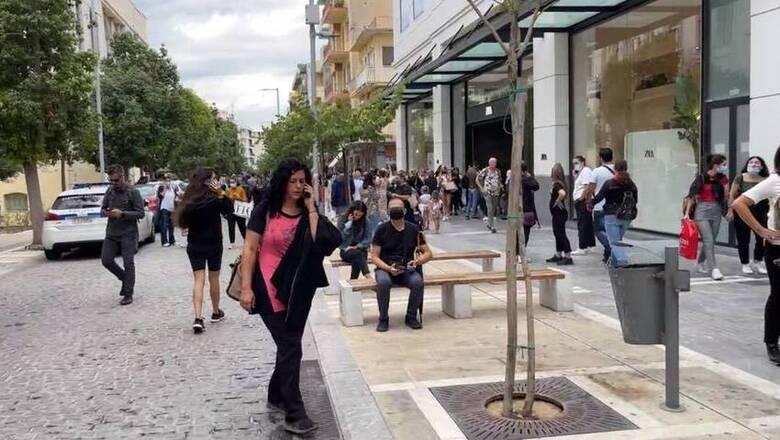 Βίντεο: Η στιγμή που τα 6,3 Ρίχτερ «ταρακούνησαν» την Κρήτη - Ανάστατοι οι κάτοικοι