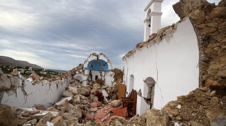«Κουνήθηκε η Κρήτη από άκρη σε άκρη»: Πανίσχυρος ο σεισμός λέει ο Αντιπεριφερειάρχης στο CNN Greece