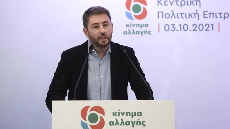 Ανδρουλάκης: Περαστικά στην Φώφη Γεννηματά - Αναστέλλει την προεκλογική του δραστηριότητα