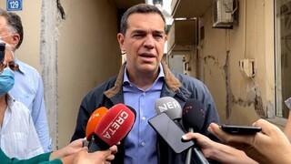 Τσίπρας από Κρήτη: Εισόδημα έκτακτης ανάγκης στους σεισμόπληκτους - Να μην αφεθούν στη τύχη τους