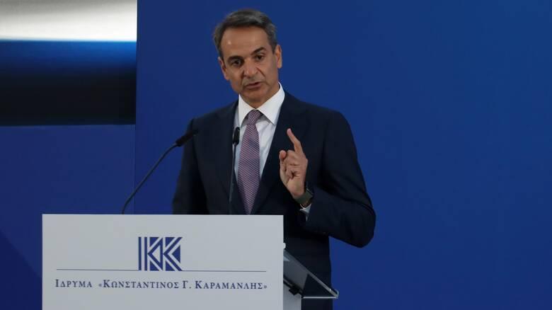 Μητσοτάκης: Η ενδυνάμωση της Δημοκρατίας συμβαδίζει με την εδραίωση της ευρωπαϊκής της πορείας