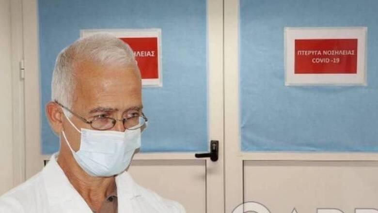 Καλαμάτα: Από καρδιακή ανακοπή πέθανε ο Διευθυντής της Κλινικής Covid