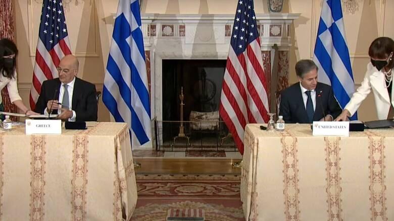 Υπεγράφη η ελληνοαμερικανική αμυντική συμφωνία από Δένδια - Μπλίνκεν: Τι προβλέπει