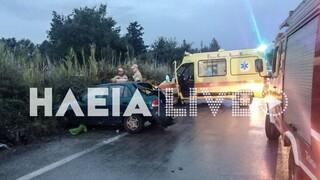 Τραγωδία στην Πατρών - Πύργου: Έγκυος σκοτώθηκε σε τροχαίο, τρεις τραυματίες