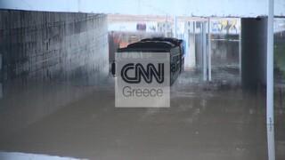Κακοκαιρία «Μπάλλος»: H ανακοίνωση της ΟΣΥ για το λεωφορείο που βούλιαξε στην Ποσειδώνος
