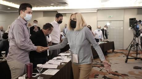 Εκλογές ΚΙΝΑΛ: Τι είπε η Γεννηματά στον Χρηστίδη για την υποψηφιότητά του