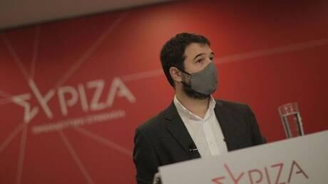 Ηλιόπουλος: Ανίκανη η κυβέρνηση να υπερασπιστεί την ασφάλεια της κοινωνίας