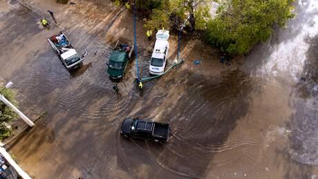Κακοκαιρία «Μπάλλος»: Σε ποια περιοχή της Αττικής έβρεξε περισσότερο