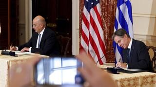Αμυντική συμφωνία Ελλάδας-ΗΠΑ: Μπαράζ μηνύματων προς Άγκυρα και εγγυήσεις