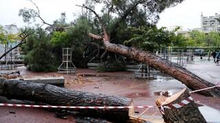 Υποχωρεί η κακοκαιρία «Μπάλλος»: Πιο ήπια τα φαινόμενα την Κυριακή - Επιμένουν οι βροχές