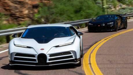 Η Bugatti Centodieci αντέχει στις υψηλές θερμοκρασίες