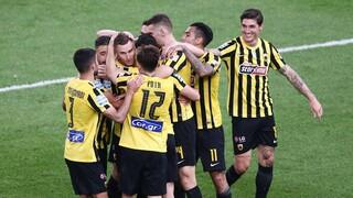 ΑΕΚ-Ατρόμητος 3-0: Νέος αέρας για τους «κιτρινόμαυρους» του Γιαννίκη