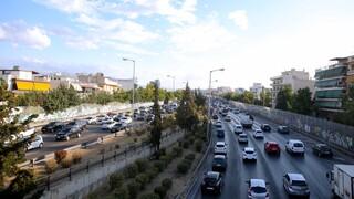 Κίνηση στους δρόμους: Καθυστερήσεις σε Κηφισό, Κηφισίας και Καποδιστρίου