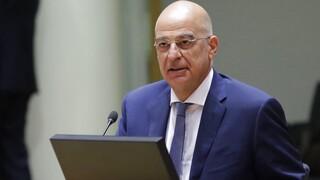 Δένδιας: Η τουρκική προκλητικότητα θα τεθεί στο Συμβούλιο των ΥΠΕΞ της ΕΕ