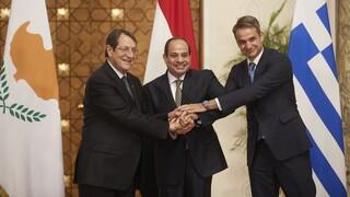 Τριμερής στην Αθήνα με Αίγυπτο και Κύπρο - Στο επίκεντρο ενεργειακή συνεργασία στην Αν. Μεσόγειο