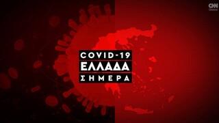 Κορωνοϊός: Η εξάπλωση της Covid 19 στην Ελλάδα με αριθμούς (19/10)