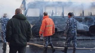 Συρία: Έκρηξη σε στρατιωτικό λεωφορείο στη Δαμασκό - Δεκατρείς νεκροί