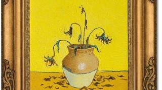Banksy: Ο πίνακας «Sunflowers From Petrol Station» πωλείται σε δημοπρασία