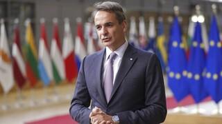Σύνοδος Κορυφής ΕΕ: Με θέση για κοινή προμήθεια φυσικού αερίου ο πρωθυπουργός στις Βρυξέλλες