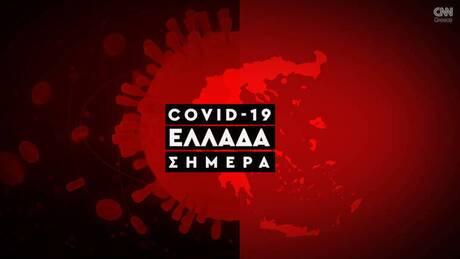 Κορωνοϊός: Η εξάπλωση της Covid 19 στην Ελλάδα με αριθμούς (21/10)