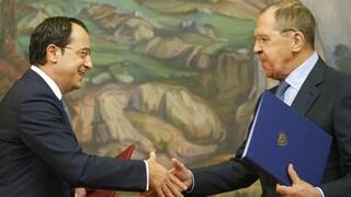 Ρωσική καταδίκη των τουρκικών προκλήσεων στα Βαρώσια στη συνάντηση Χριστοδουλίδη - Λαβρόφ