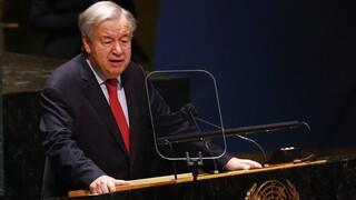 ΟΗΕ- Κλίμα: Ο Γκουτέρες ανησυχεί για το ενδεχόμενο αποτυχίας της COP26