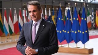 Σύνοδος Κορυφής: Θέμα Τουρκίας θέτει ο Μητσοτάκης στο μεταναστευτικό